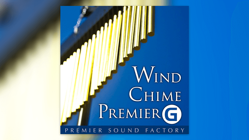 ついに見つけた…最高のウィンドチャイム音源「Wind Chime Premier G」
