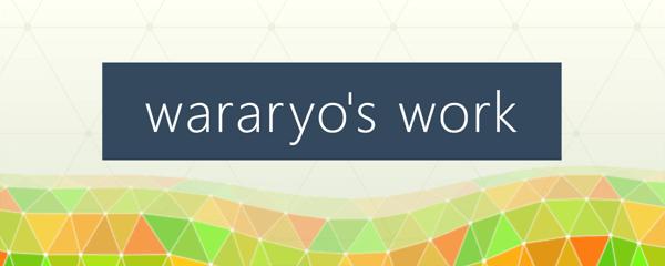 wararyo's work
