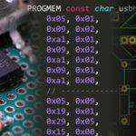 足元で横スクロールできるデバイスを作ります:回路編