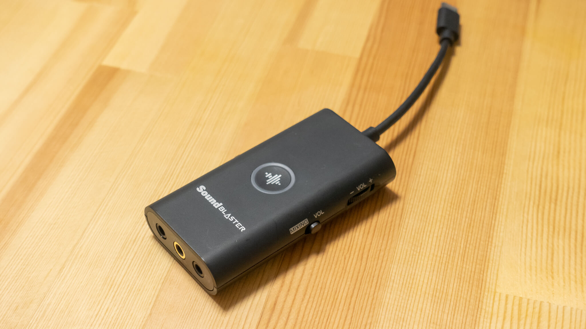 """6000円で配信の幅が広がるオーディオデバイス """"Sound Blaster G3"""""""